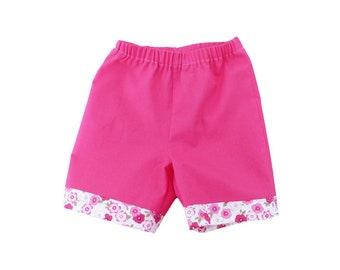 Long shorts 3 months/newborn gift / girl shorts