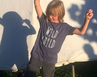 Wild Child, Youth Tee, super soft