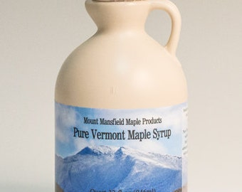 Mansfield Maple Quart Pure Vermont Maple Syrup (Choice of Grade)