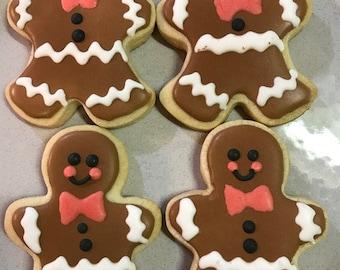 Gingerbread Men Cookies - I Dozen