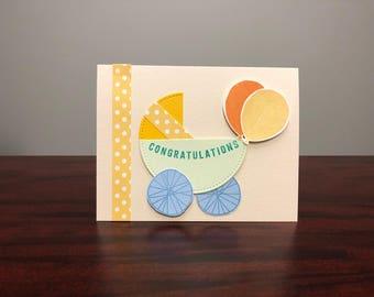 Baby Carriage Congratulations