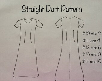 Straight pattern custom sewing