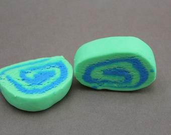Neon Green & Blue  Bubble Bar - Spring Meadow