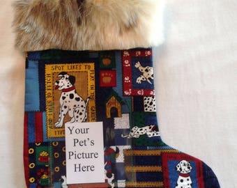 Dalmation Dogs Pet Stocking