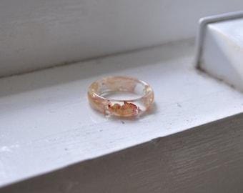 Rose Ring, Plant Ring, Terrarium Ring