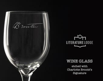 Wine Glass: Charlotte Bronte