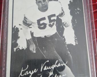 1961 Topps CFL Football  #83 Kaye Vaughan EX-NM Ottawa Rough Riders Card