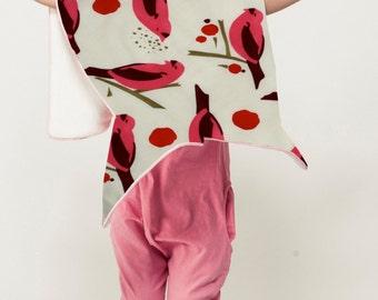 Birds and Berries Baby Blanket