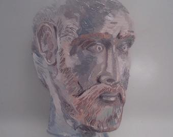 JASON oil painting on glass
