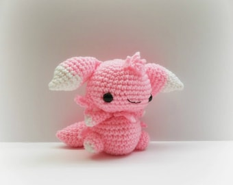 Crochet Espurr Inspired Chibi Pokemon