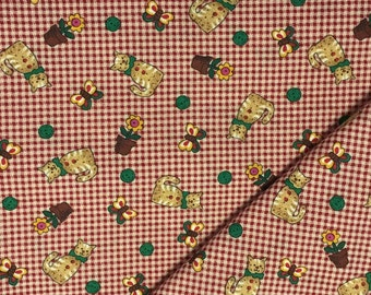 Cat Fabric / Cotton Fabric / 3 Yards / Dream Spinners / Cranston Print Works / Quilting Fabric