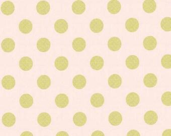 SALE - Michael Miller - Quarter Dot Pearlized in Confection