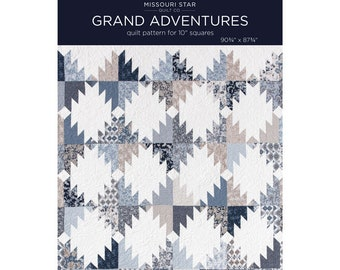 Grand Adventures Quilt Pattern by Missouri Star Quilt Co.