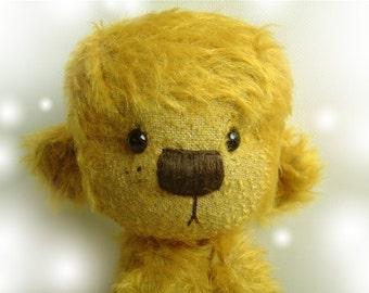 NATALIE - OOAK artist bear epattern by Jenny Lee of jennylovesbenny bears PDF