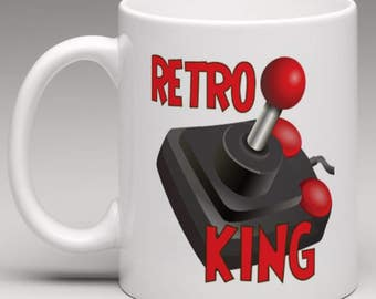 Retro King - Gamers Novelty Mug