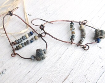 Primitive and ethnic earrings: Equilibrium Of Times ....