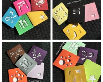 Assortment Variety Mini Note Cards with Envelopes 10