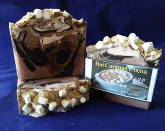 Hot Caramel Cocoa Soap
