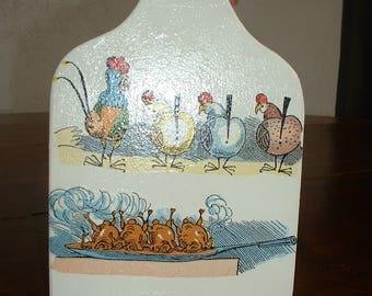 Cutting board decor year 50 - vintage-