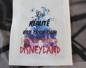 "Shopping bag ""go to Disneyland"""