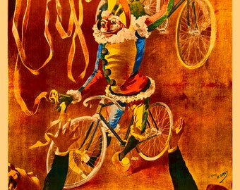 Cycles Cottereau Bicycle Poster (#0212) 6 sizes
