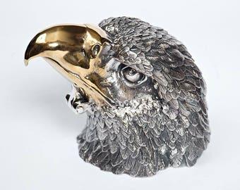 """Silver Jewelry box """"Eagle"""""""