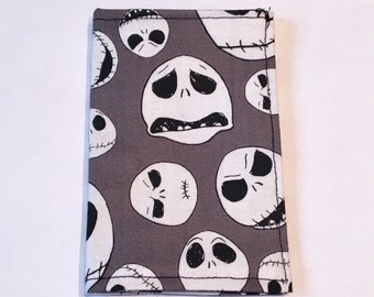 Jack Skellington, Nightmare before Christmas wallet, Card holder, business Card Holder, Park Pass Holder, Small Wallet