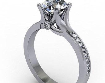 Deposit Listing For Jo Moissanite Engagement Ring - Love Nest