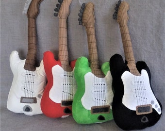 Rocker Ready - Stuffed Guitars with adjustable straps