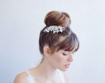 Peigne à cheveux de mariée - Petite opale blossom éclat-peigne - Style 784 - prêt à l'expédition