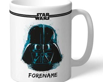 Personalised Star Wars Darth Vader Paint Mug
