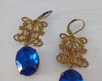 Antique Earrings Vintage Years 1970