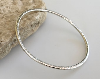 Silver Bangle, Sterling silver bangle bracelets, silver bangle bracelets, Womens Silver Bracelet, Silver Bracelet, Plain silver bangle,