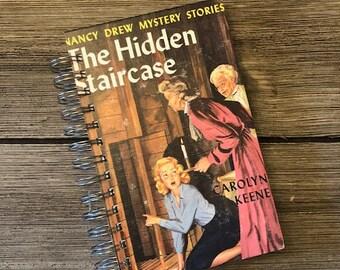 Vintage Nancy Drew Book Journal, The Hidden Staircase