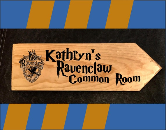 Ravenclaw Common Room Sign