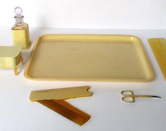 6-Piece Celluloid Vanity Set