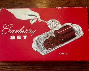50s Cranberry Set