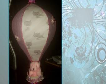3d Hot Air Balloon Gift Keepsake