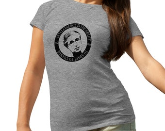 Stephen Hawking Science Star RIP T-Shirt for Ladies Cool Gift