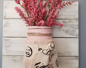 Pretty in Pink Little Lady Jar