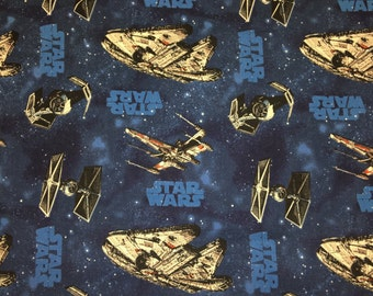 Star Wars Quilting Apparel 100% Cotton Fabric 1 Full Yard