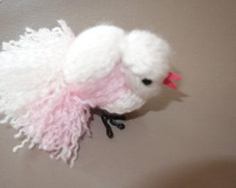 Decorative Wool BIRD