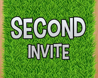 SECOND invite fee - adds on