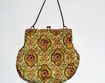 Romantic Beaded Evening Handbag
