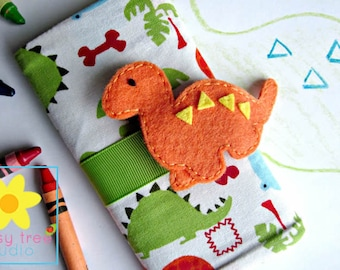 Crayon Holder, Crayon Roll, Crayon Caddy, Crayon Wallet, Crayon Roll Up, Crayon Keeper, Crayon Organizer, Crayon Tote, Dino, Dinosaur
