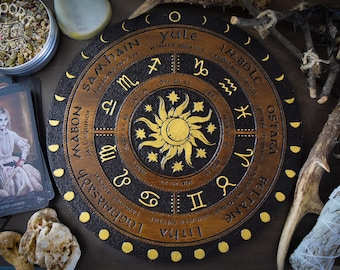 Wheel of the Year, Gold Sun and Moon