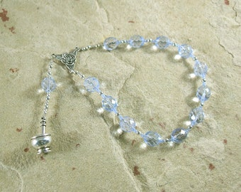 Hygeia (Hygieia) Pocket Prayer Beads: Greek Goddess of Health and Healing