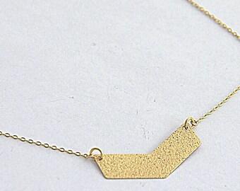 Necklace Geometric Pendant