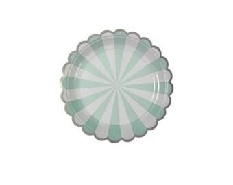 Meri Meri Mint small dessert plate