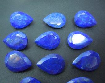 Lapis Lazuli Pear Cut stone Gemstone AAA Quality 9Pc  size 13x18mm wholesale price